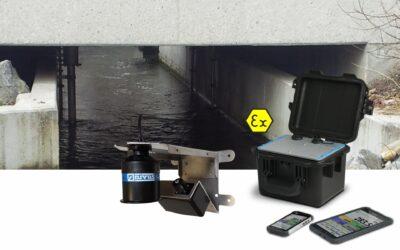 Autarke Durchflussmessung mit Radar