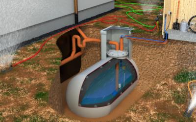Öltank wird zum Regenwasserspeicher