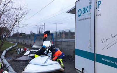 Grabenlose Sanierung verhindert Verkehrschaos in Nordschweden
