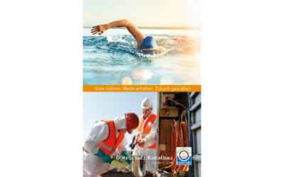 Gütegemeinschaft Kanalbau veröffentlicht Jahresbericht 2020