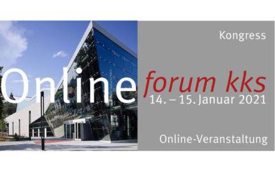 forum kks, fkks infotag und Jahreshauptversammlung erstmals digital