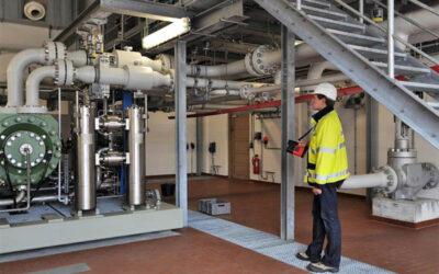 Gasleckortung mit Lasermessgerät