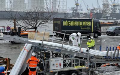 Abwasser: Größtes Schlauchlinerprojekt in Hamburg