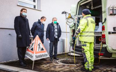Kanalsanierung: Pilotprojekt Grundstücksentwässerungsanlagen in BW