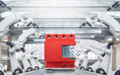 Kompakter Kombi-Ableiter schützt vor Überspannungen