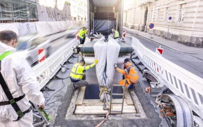 Größter Liner-Einzug in der Grazer Innenstadt