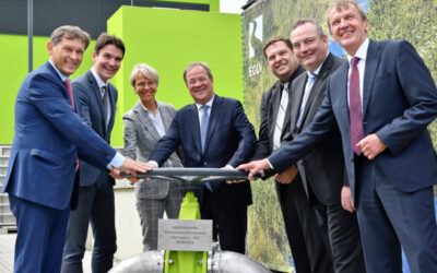 Größter Meilenstein des Emscher-Umbaus: Pumpwerk Oberhausen eingeweiht
