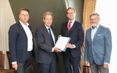 Integrationsvertrag unterzeichnet: ASUE wird Teil des DVGW