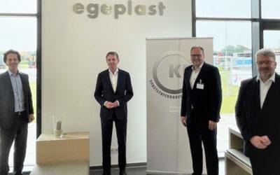 egeplast ist neues Mitglied im Kunststoffrohrverband (KRV)