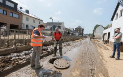 Kanalreinigung: Nach Starkregen-Katastrophe helfen sich Kommunen untereinander