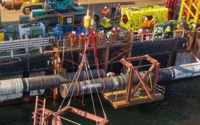 Nord Stream 2: Offshore-Teil des zweiten Strangs fertiggestellt