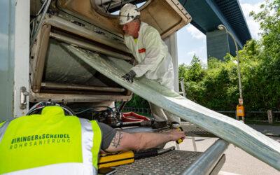 Abwasserdruckrohrleitung in Kiel grabenlos saniert